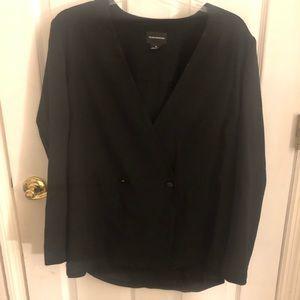 Black Club Monaco blazer! Size 10 Great Condition